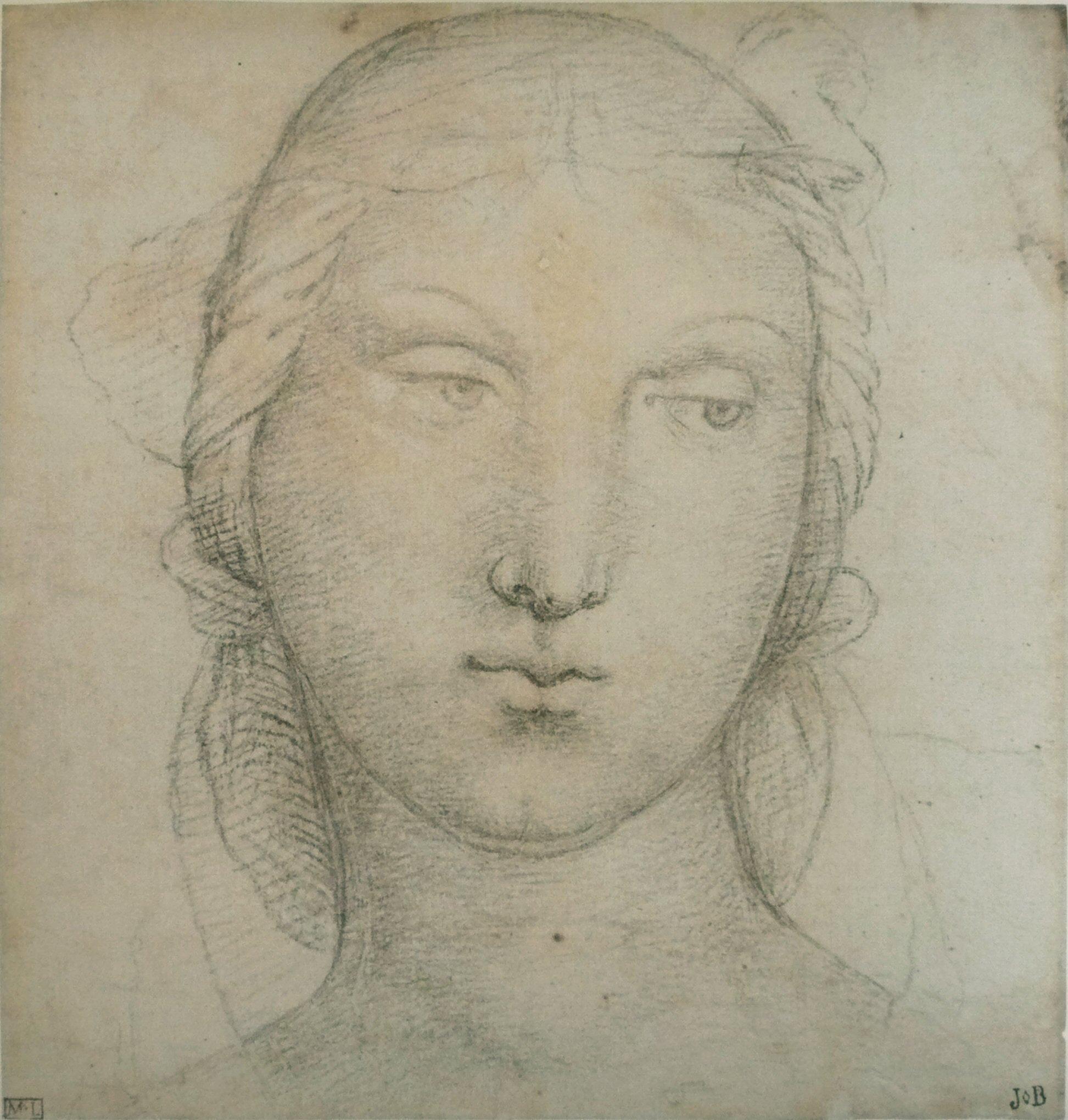 """San Giorgio by Oskar Fischel Title French: Tête de jeune femme label QS:Lfr,""""Tête de jeune femme"""" Date 16th century date QS:P571,+1550-00-00T00:00:00Z/7"""