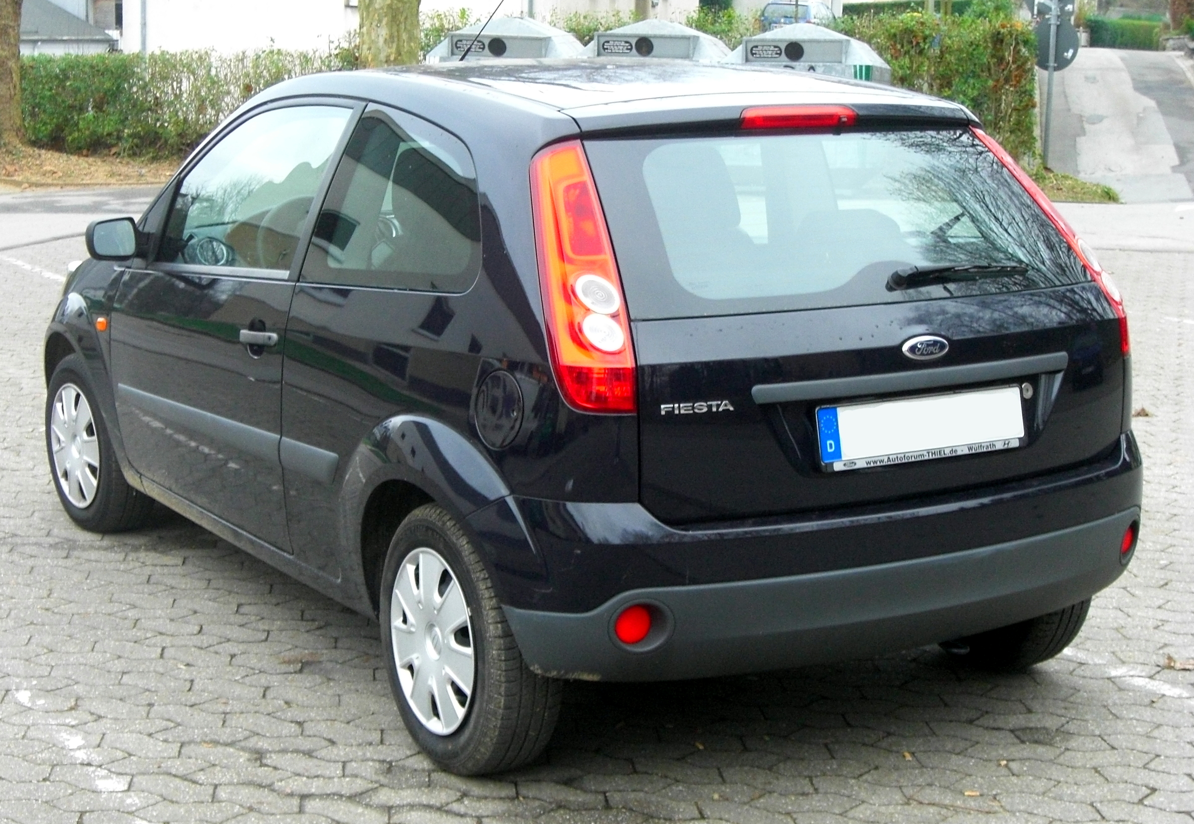 archivo ford fiesta mk6 facelift 2005 2008 rear mj jpg. Black Bedroom Furniture Sets. Home Design Ideas