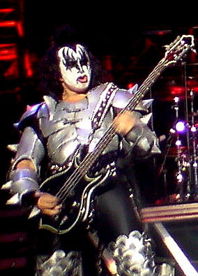 image gene simmons in KISS