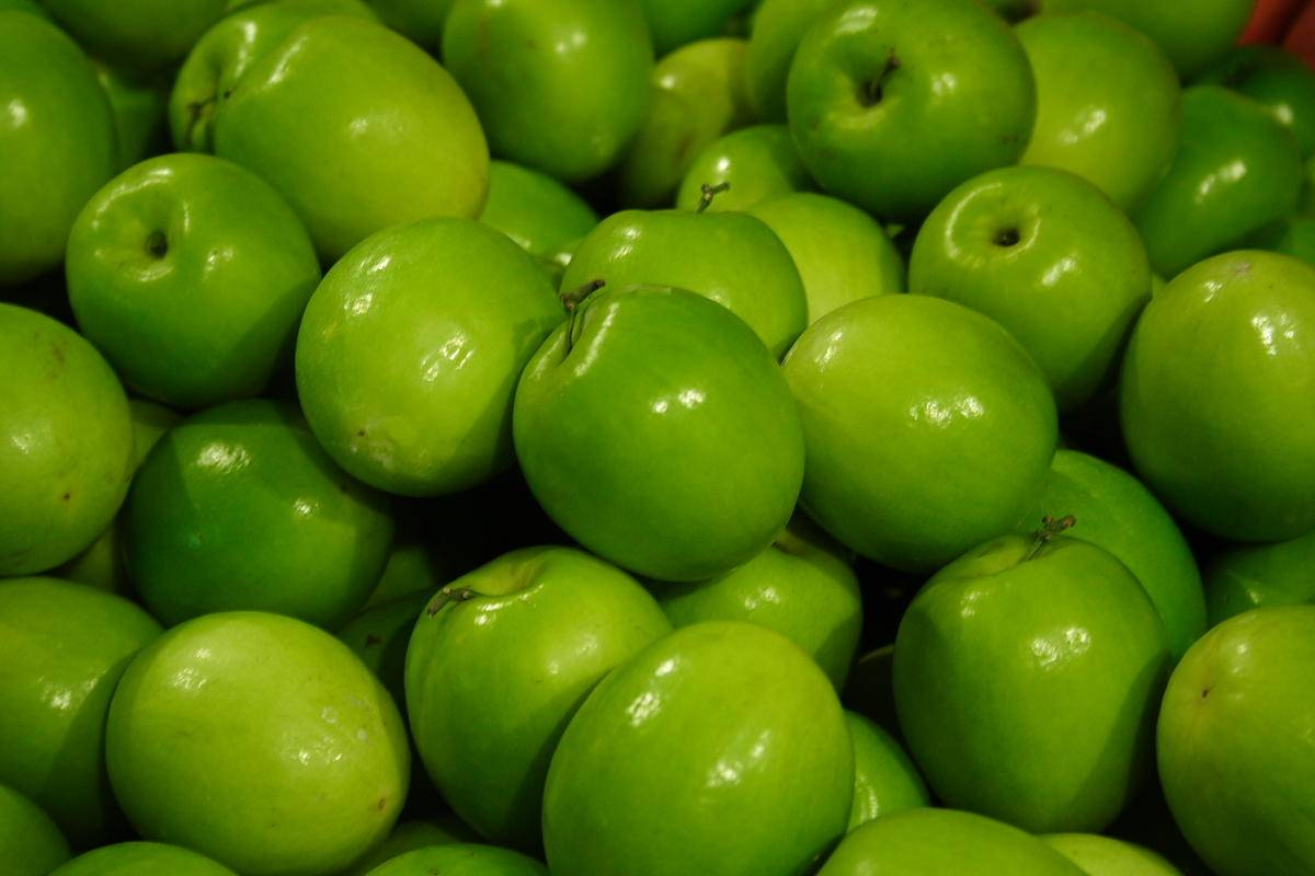 Green Apple Picture Wall Decor Kitchen