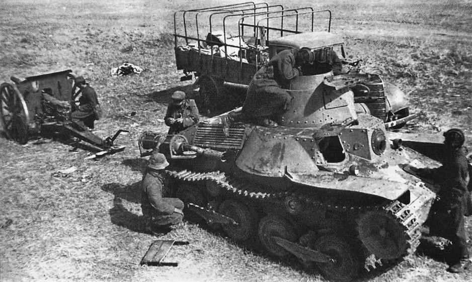 Japanese Type 95 Ha-Go captured tank