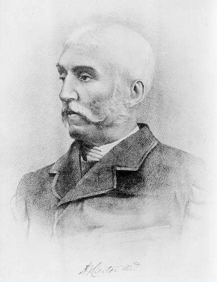 Henry vandyke carter (self portrait, 1870)