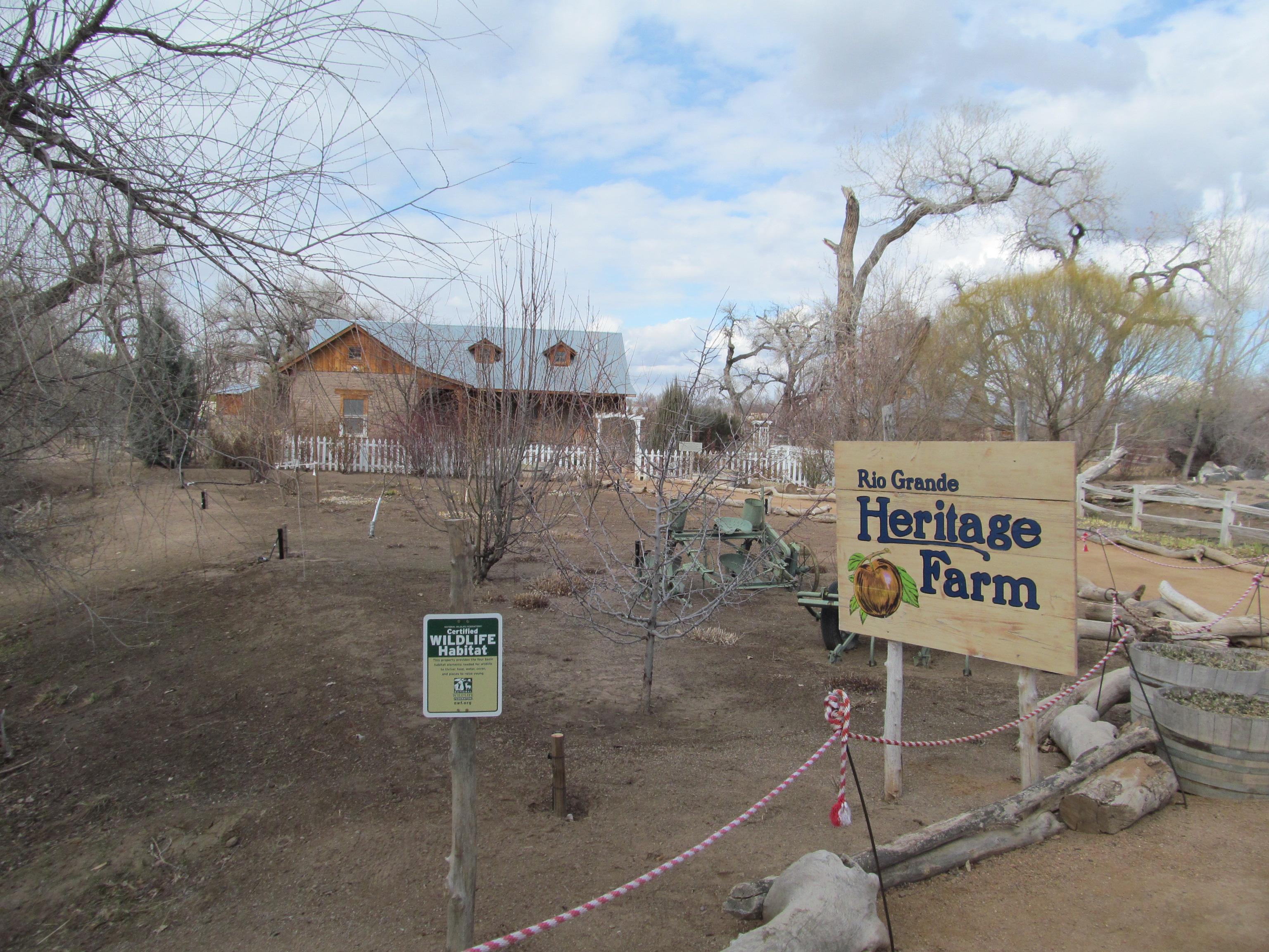 Heritage Farmat the [[Rio Grande Botanic Garden
