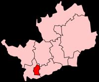Watford within Hertfordshire