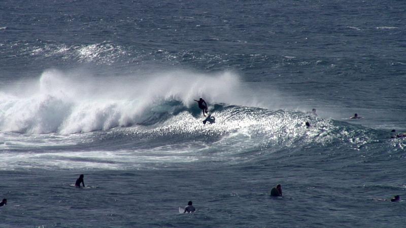 Ho'okipa Beach on the island of Maui