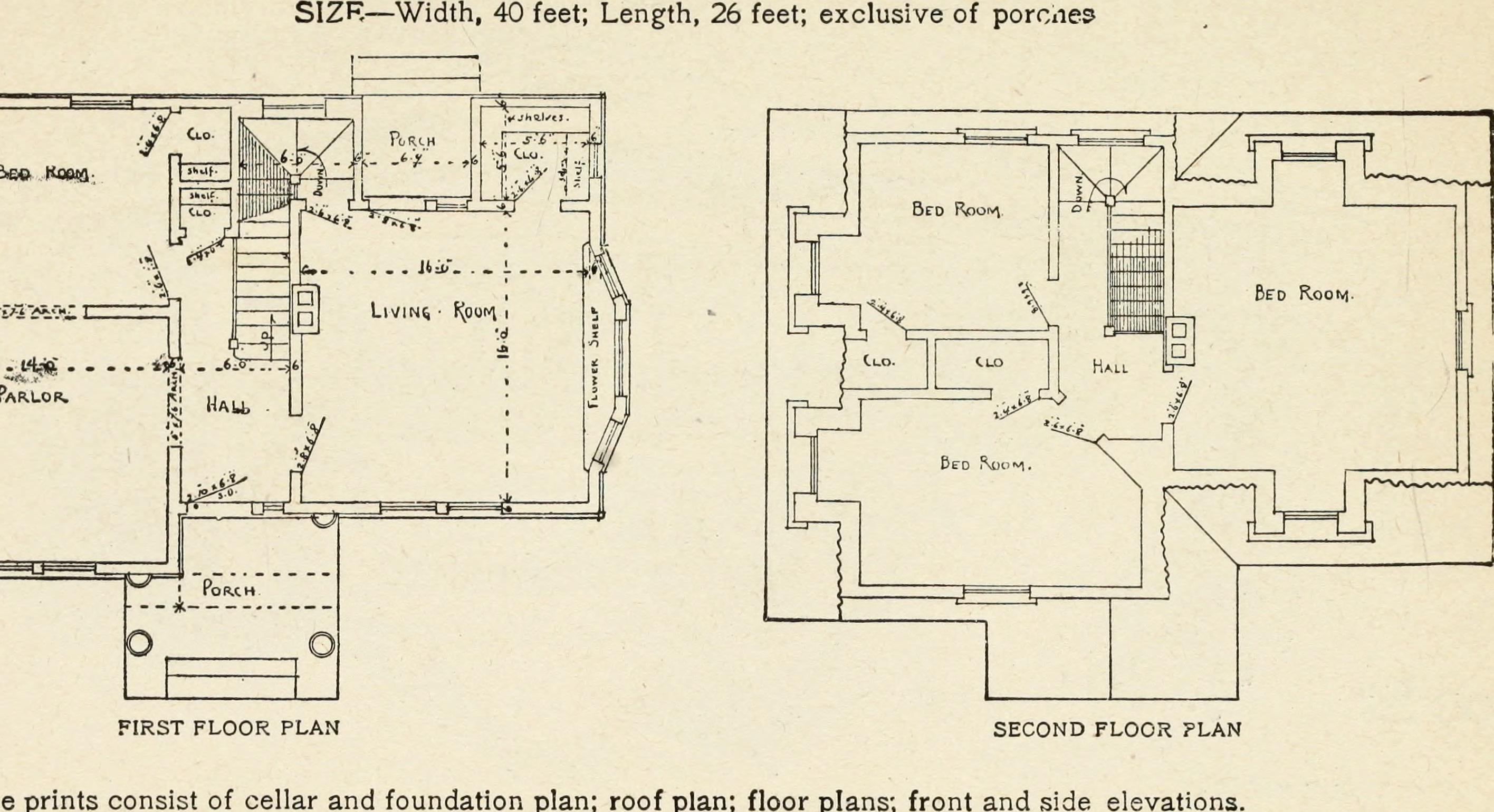 File hodgson 39 s low cost american homes perspective views for American home floor plans