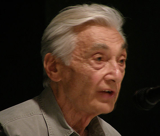 Portrait of Howard Zinn