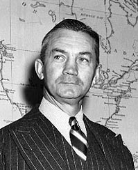 Secretary of the Navy James V. Forrestal.