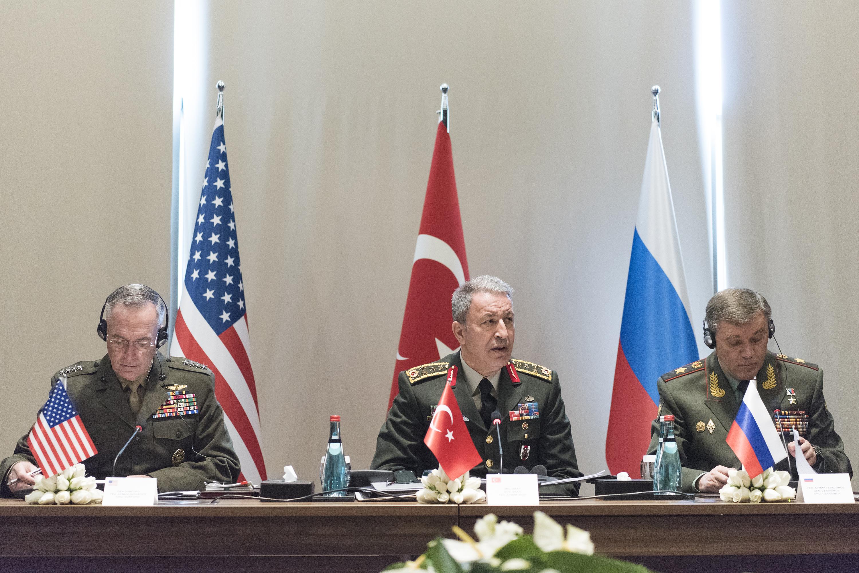 File:Joseph Dunford, Hulusi Akar and Valery Gerasimov ...