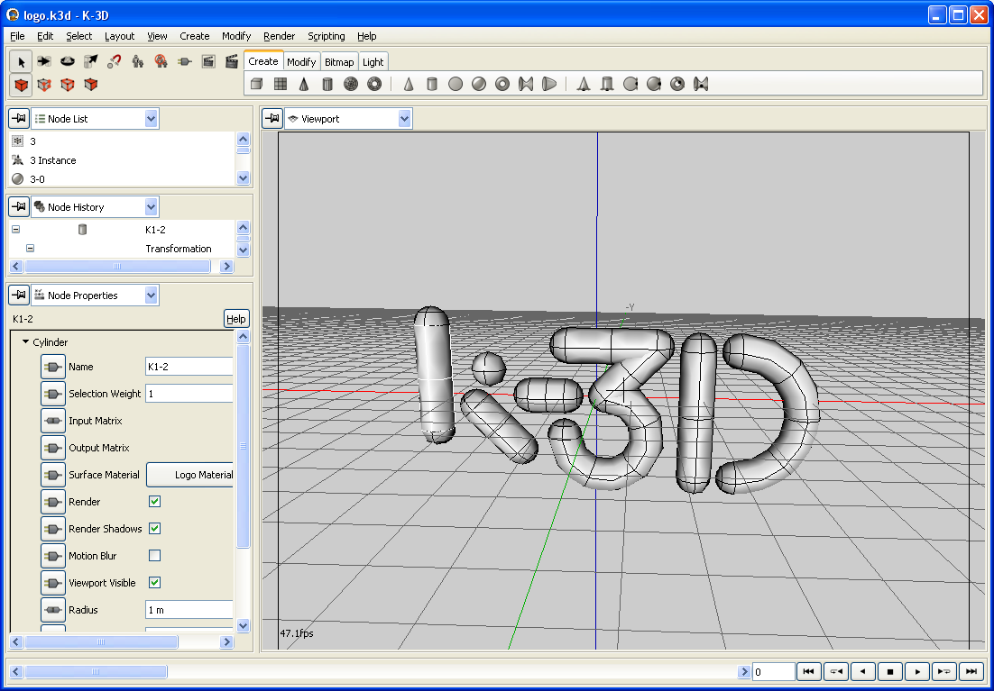 File:K3d software screenshot.png - Wikimedia Commons