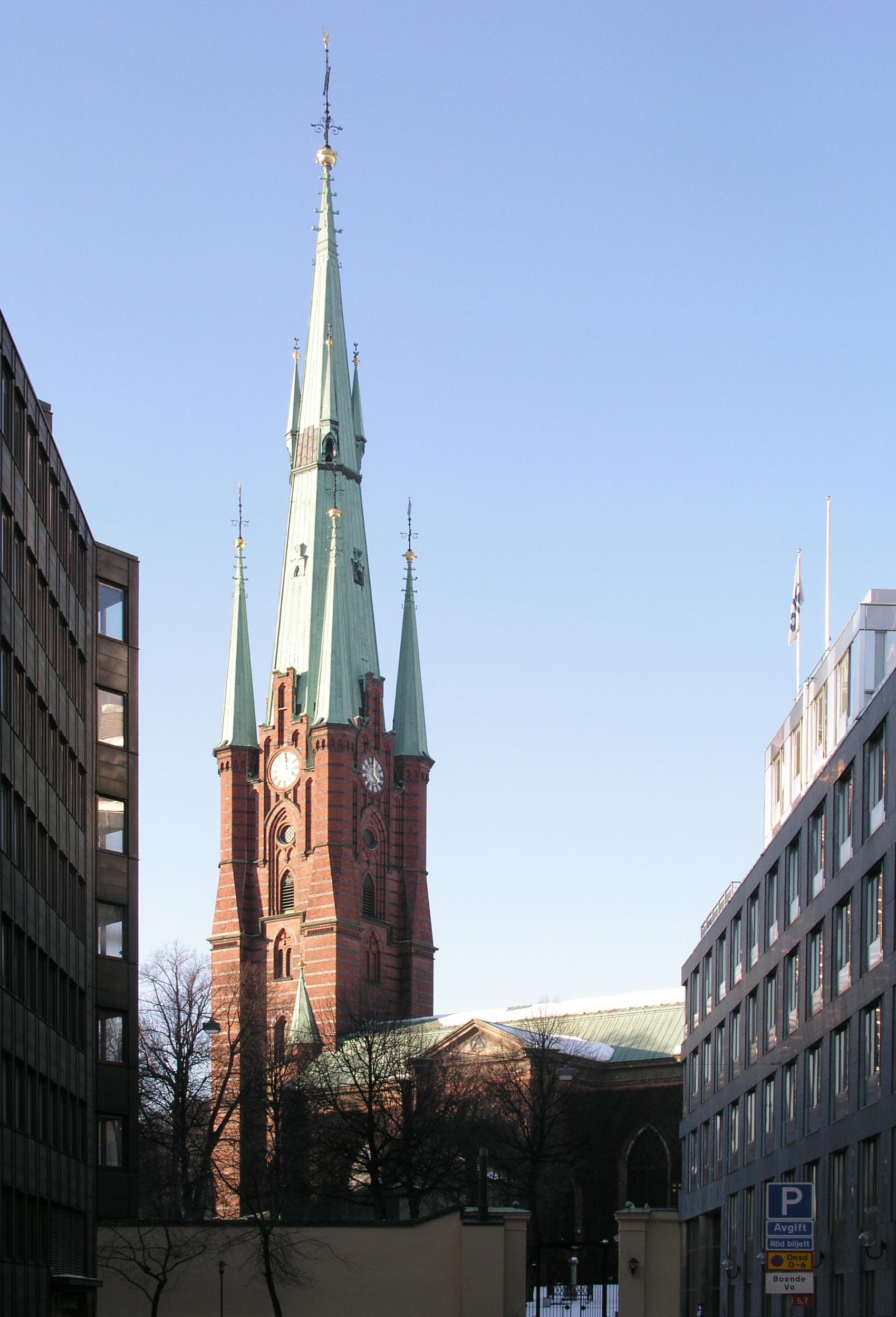 Klara Kyrka Wikimedia Commons