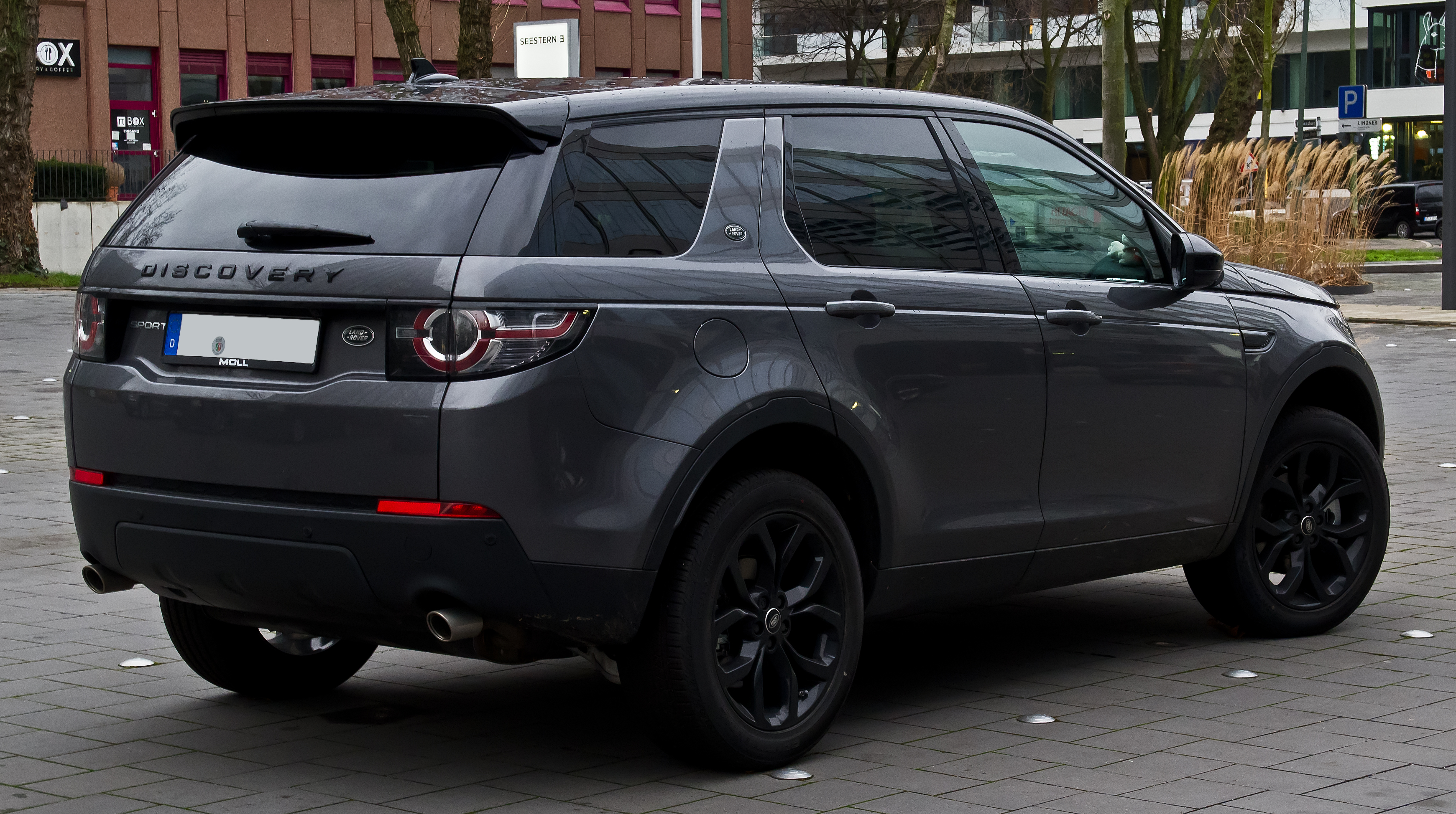 file land rover discovery sport td4 hse black paket heckansicht 3 januar 2016 d sseldorf. Black Bedroom Furniture Sets. Home Design Ideas