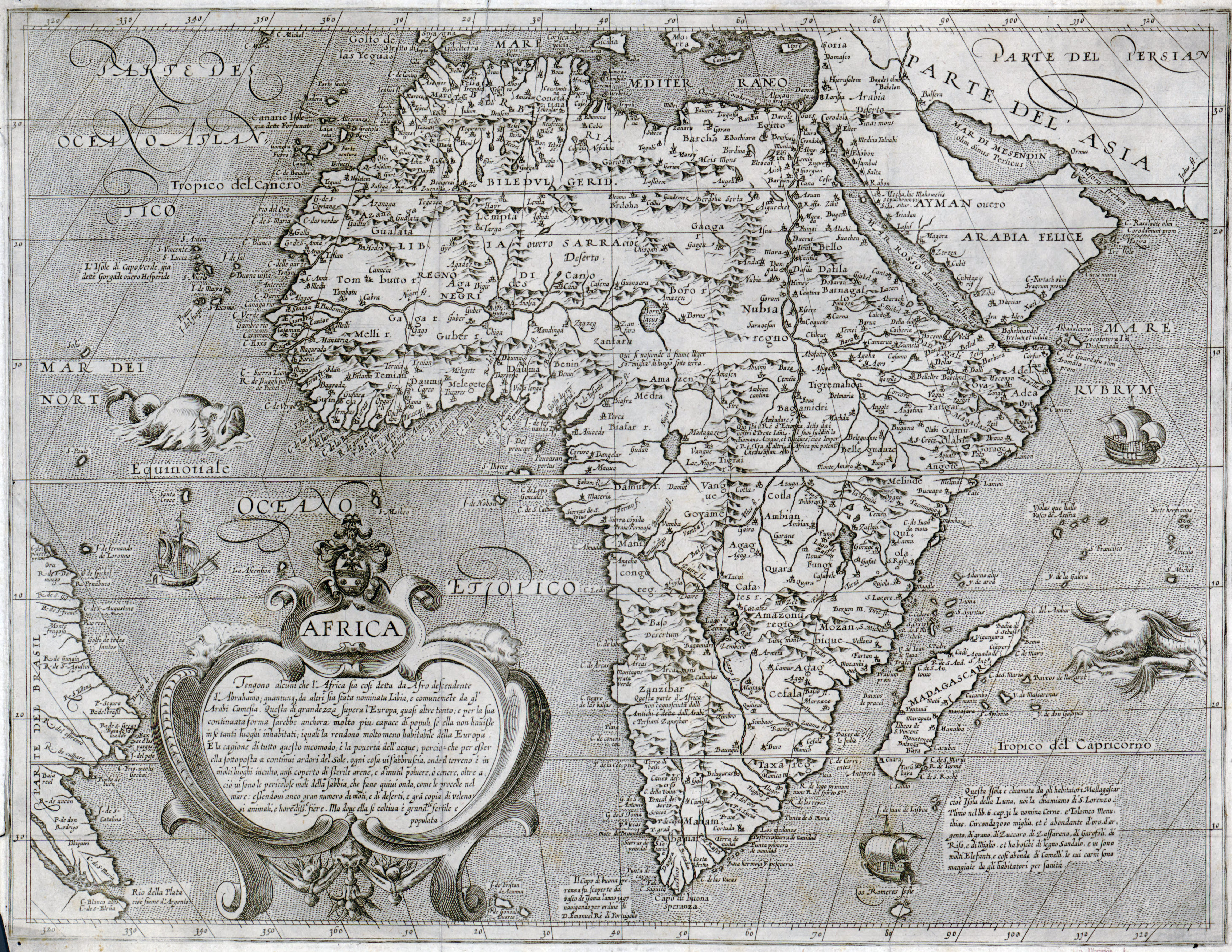 File:Large scale old map of africa 16xx.   Wikimedia Commons