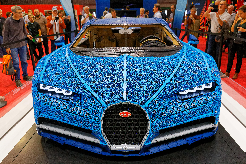 File Lego Bugatti Chiron Mondial De L Automobile De Paris 2018