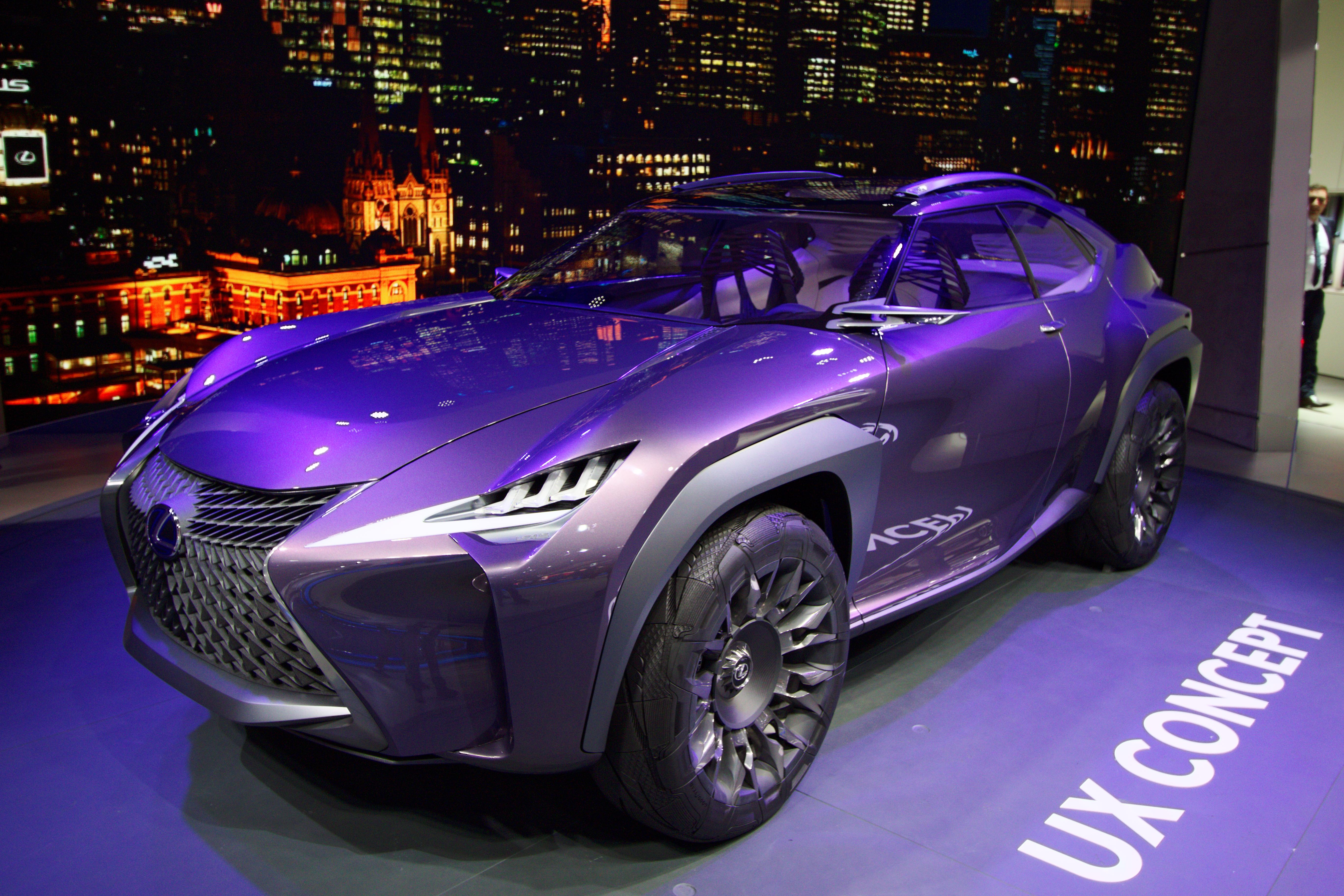 File:Lexus UX Concept - Mondial de l\'Automobile de Paris 2016 - 004 ...