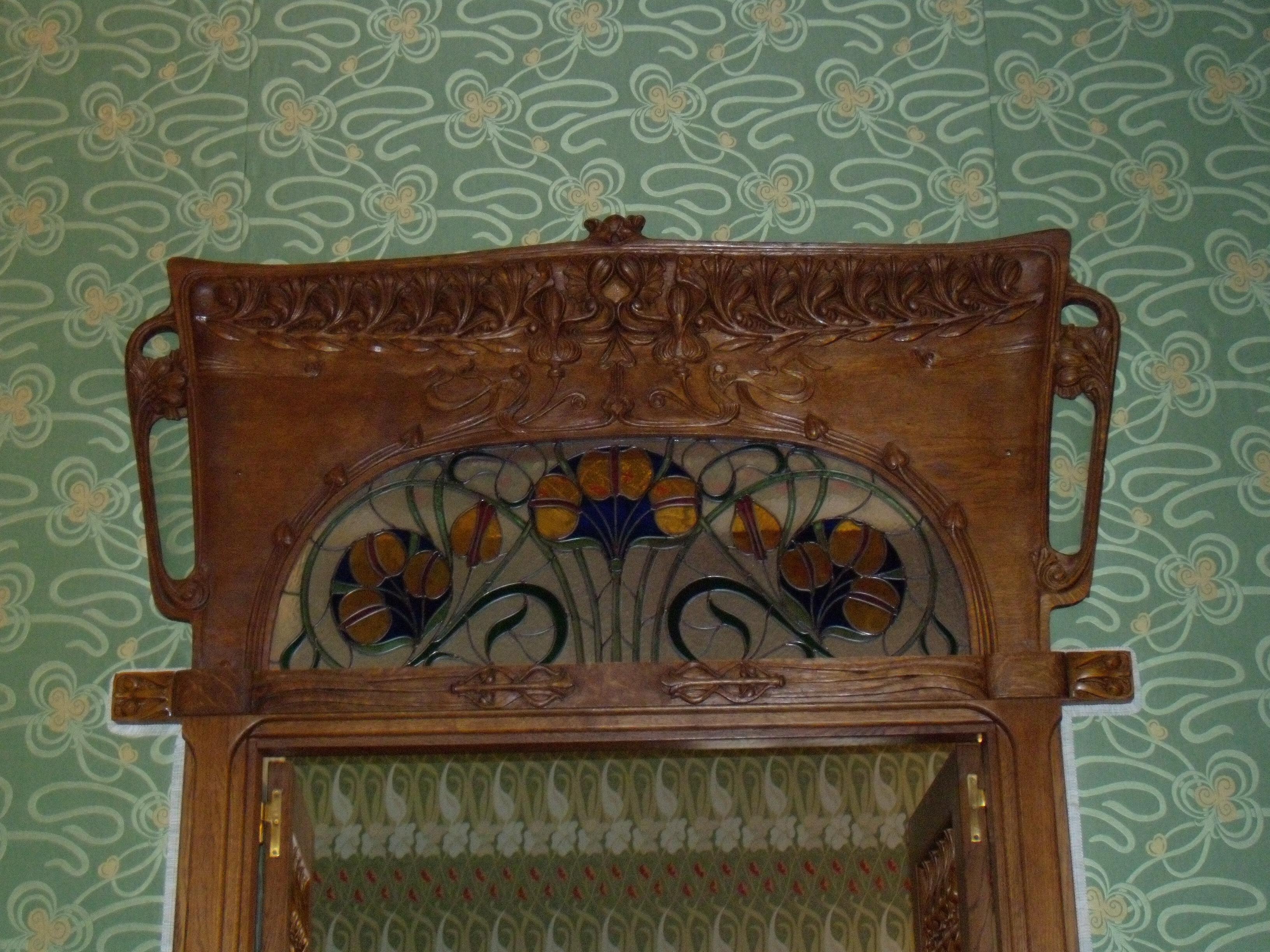 Arredamento stile liberty antico specchio stile liberty - Art nouveau mobili ...