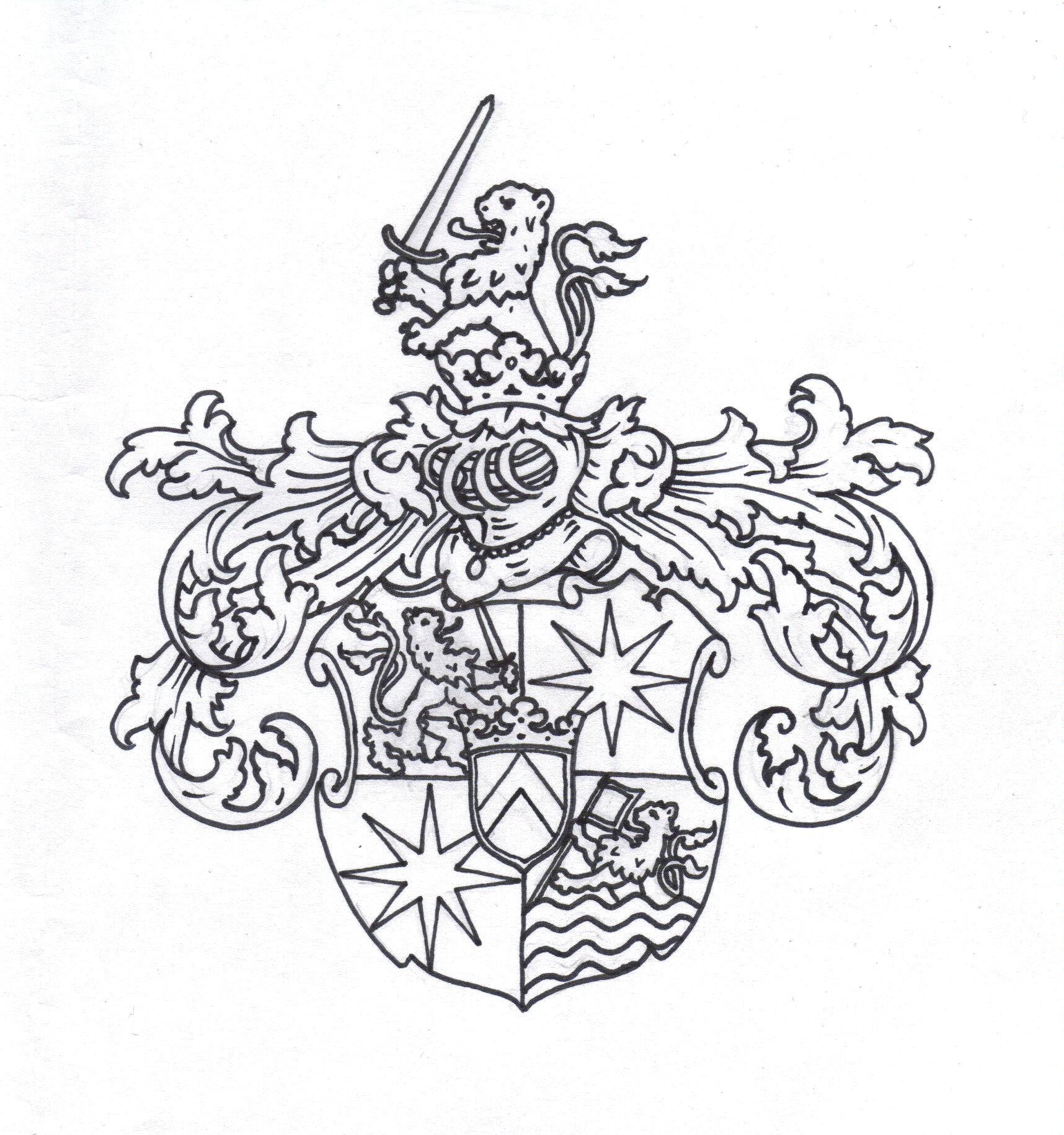 File Loewenstern Wappen 1676 Jpg Wikimedia Commons