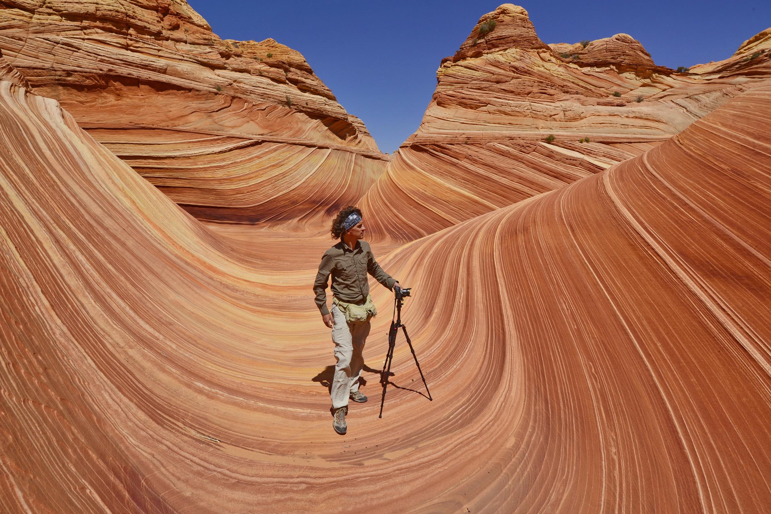 The Waves al confine fra Arizona e Utah fra le pi¹ caratteristiche formazioni geologiche del nostro pianeta
