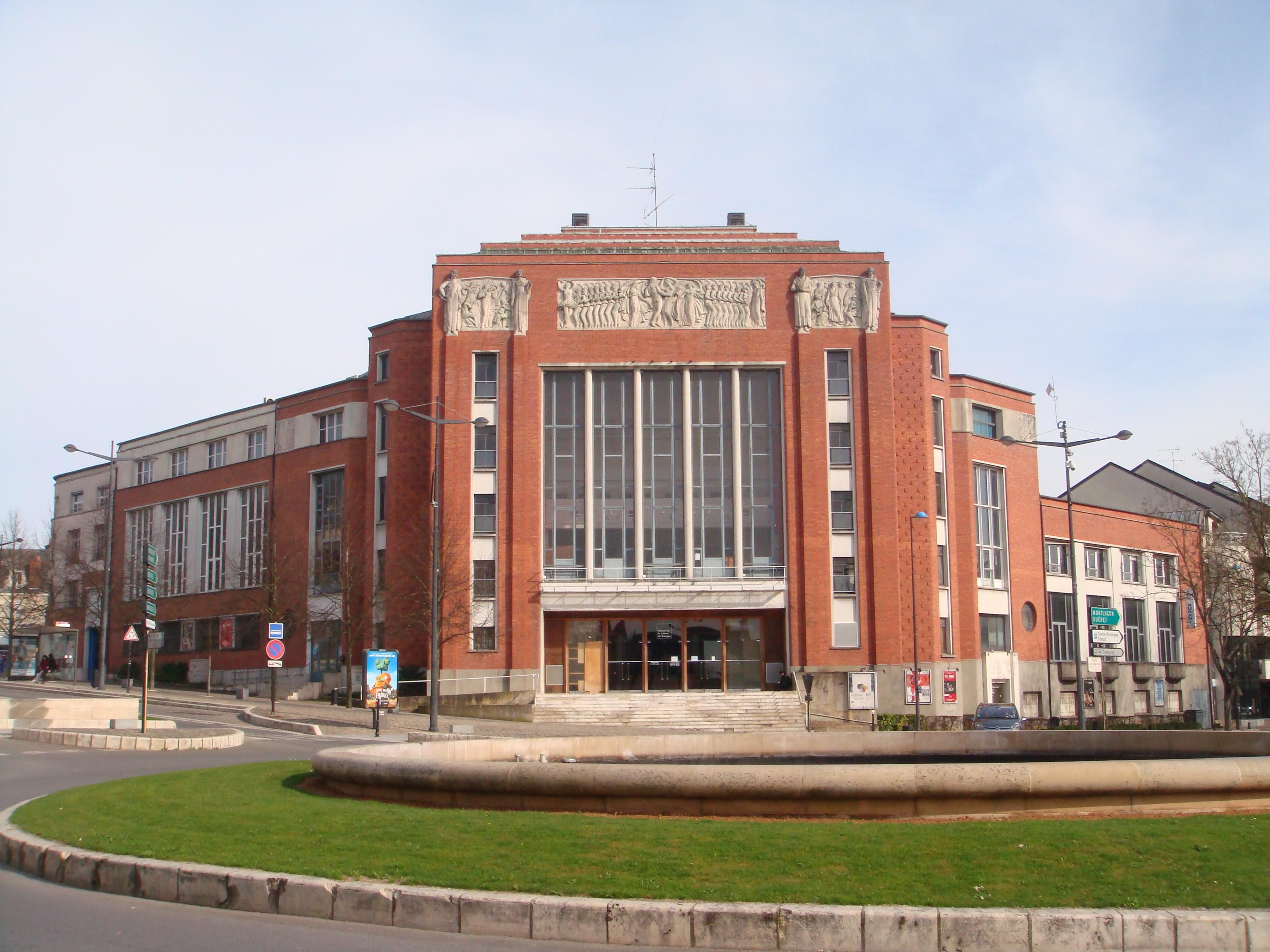Maison de la culture de Bourges — Wikipédia