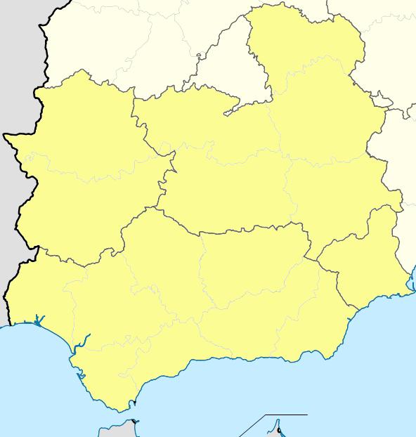 Archivo:Mapa Segunda División B Grupo IV 2012-13.png - Wikipedia, la ...