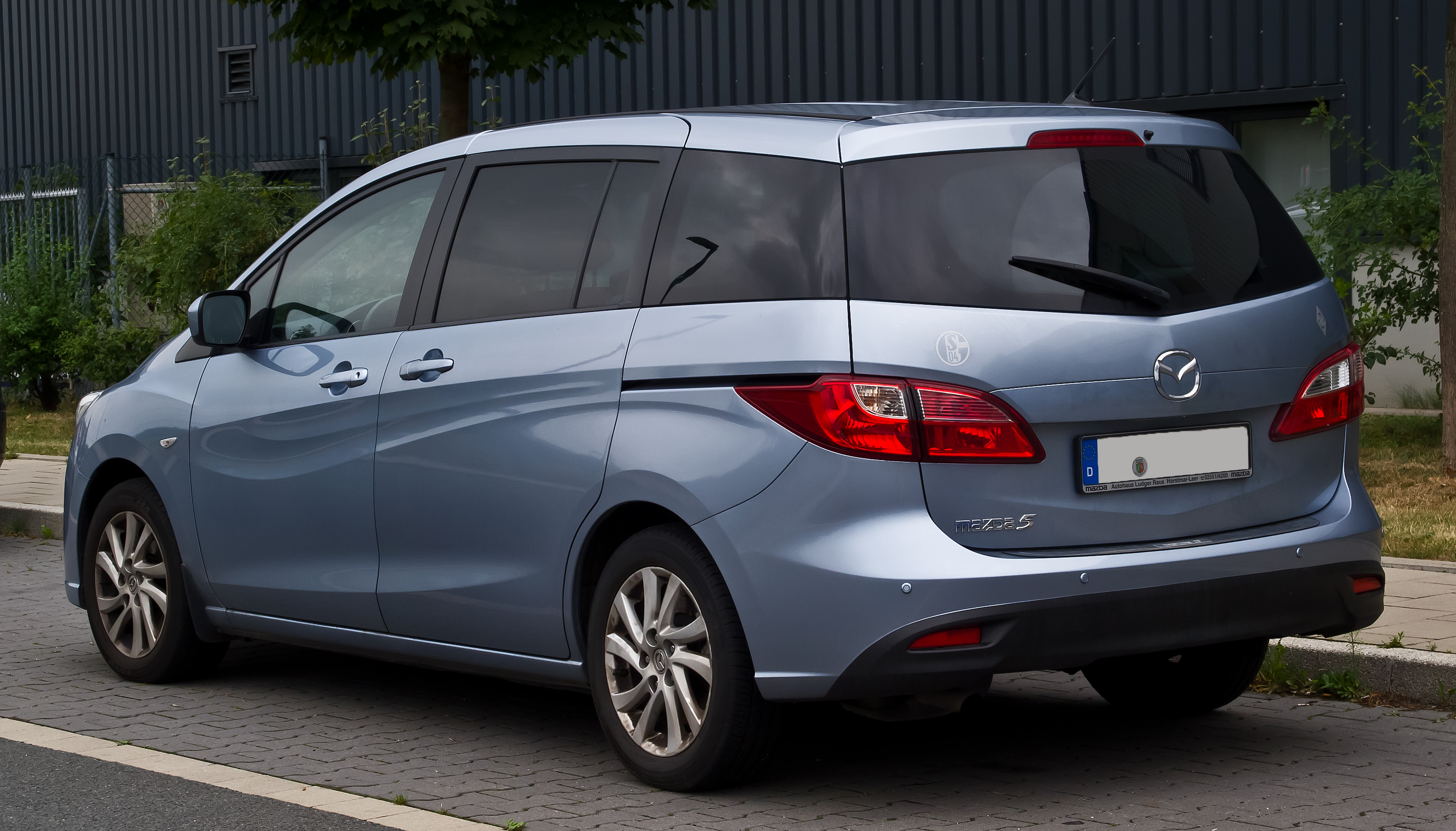 File Mazda5 Ii Heckansicht 25 August 2013