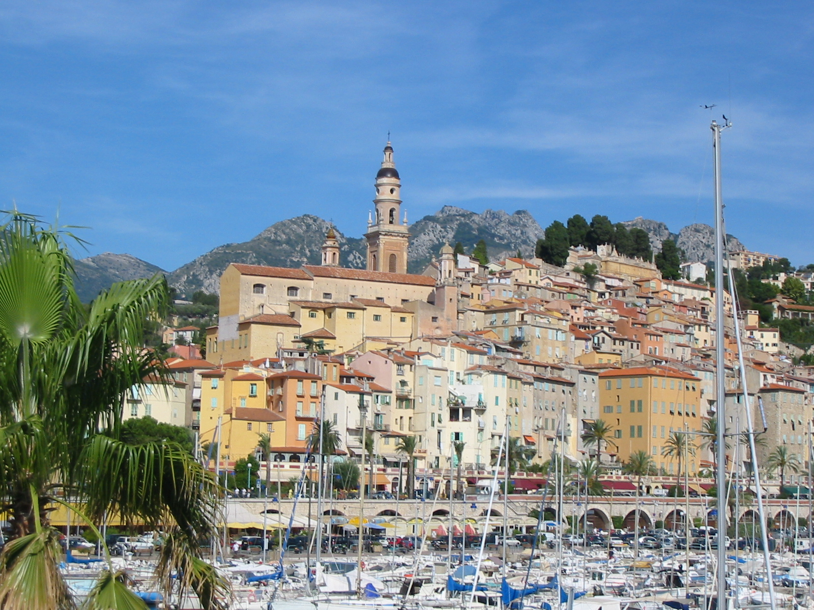 Description menton vieille ville