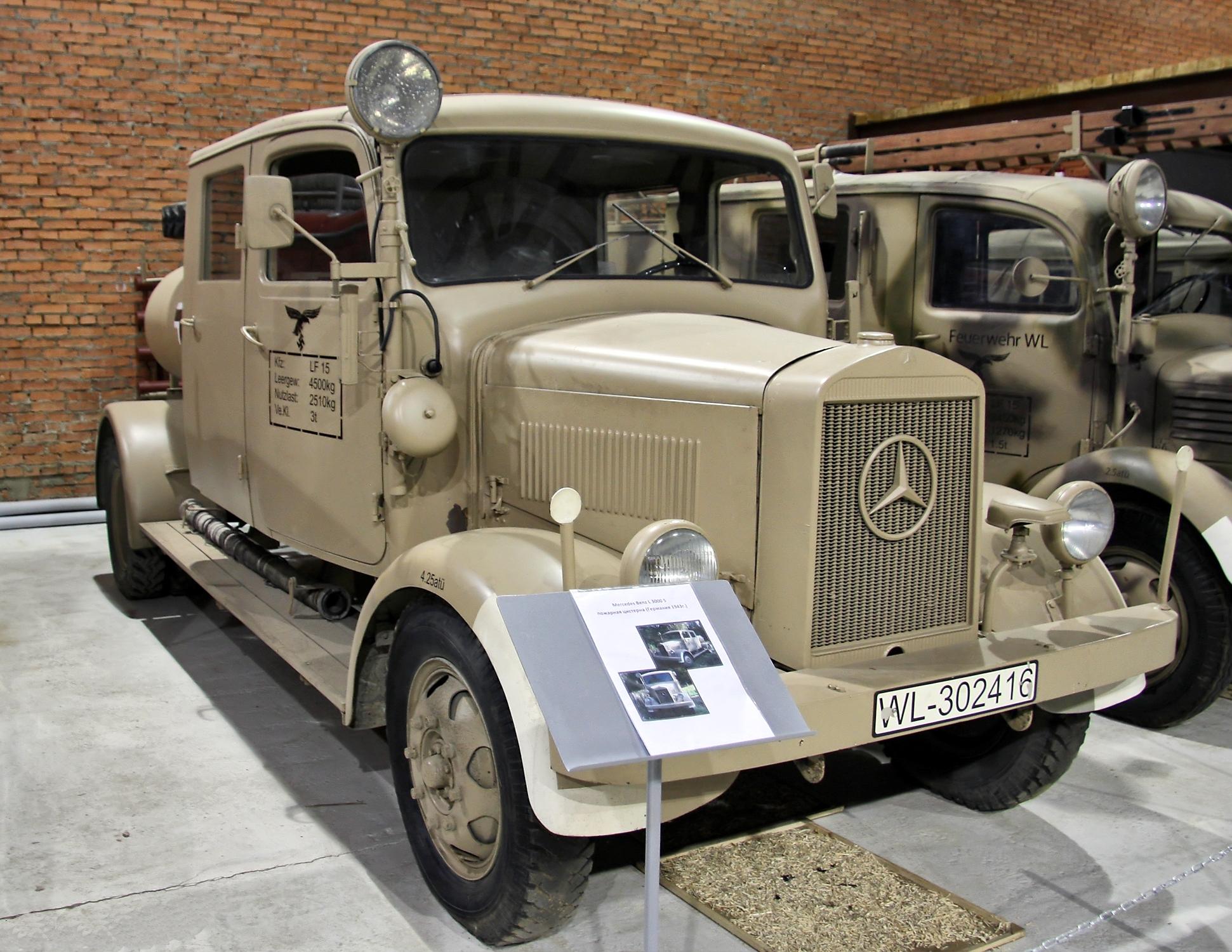 Mercedes benz l 3000 wikiwand for Mercedes benz under 3000