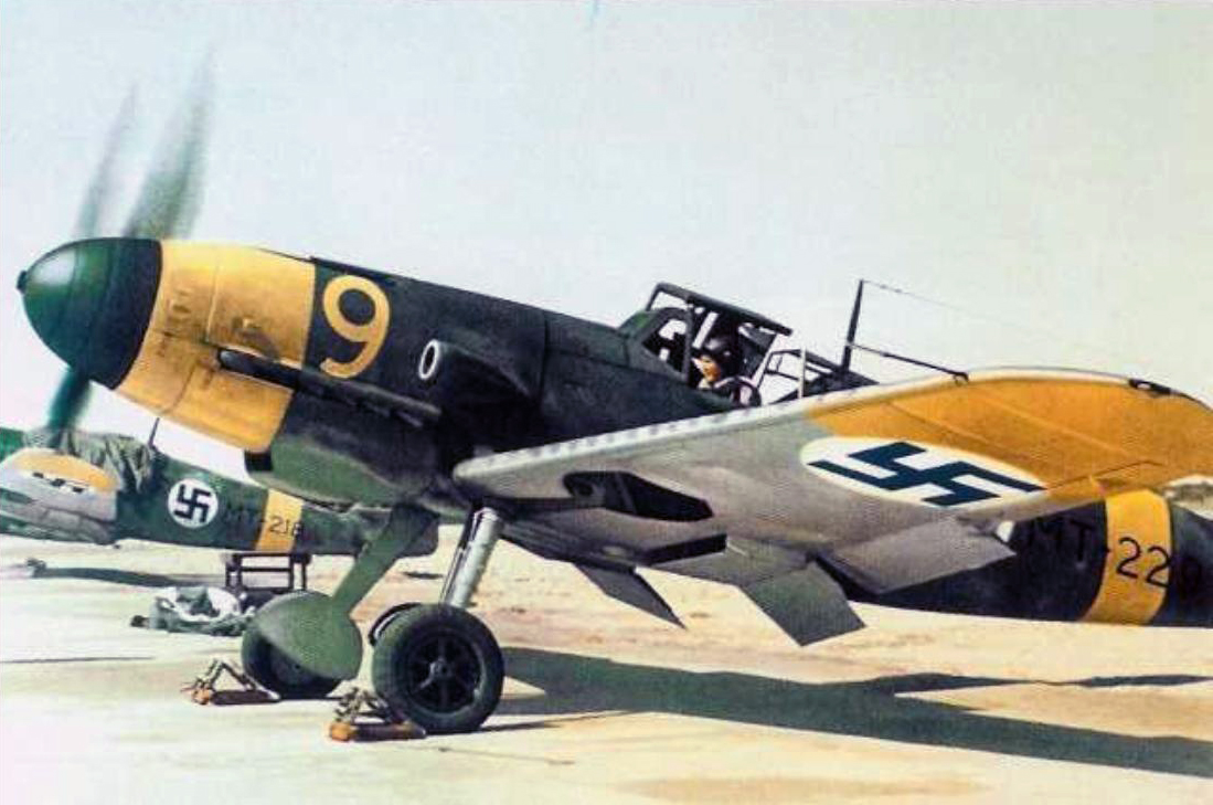 Photos of the Luftwaffe in WW2 - Page 2 Messerschmitt_Bf_109G-2