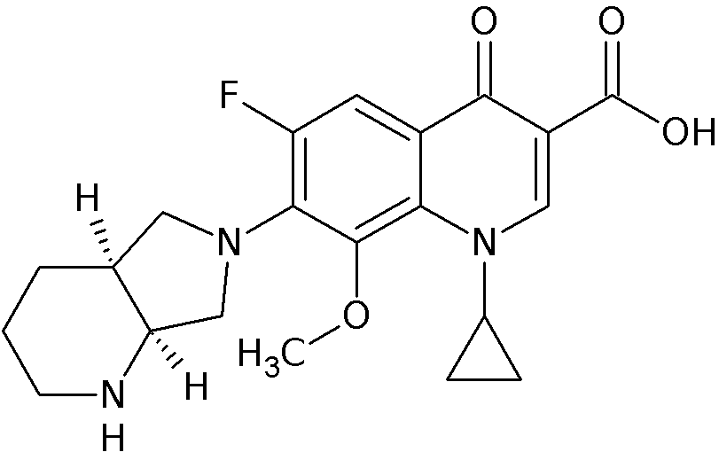 chemical structure of the antacid