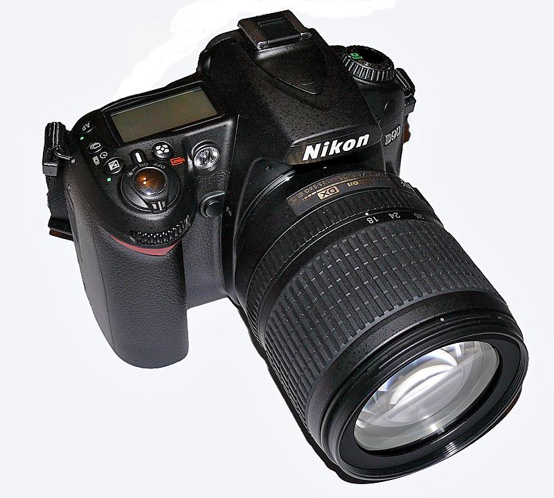 ������� �������� ���������� Nikon D90