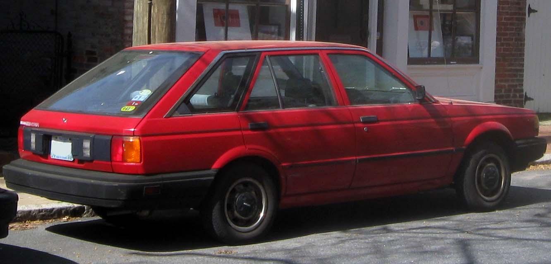 1990 Nissan Sentra SE - 2dr Hatchback 1.6L Manual