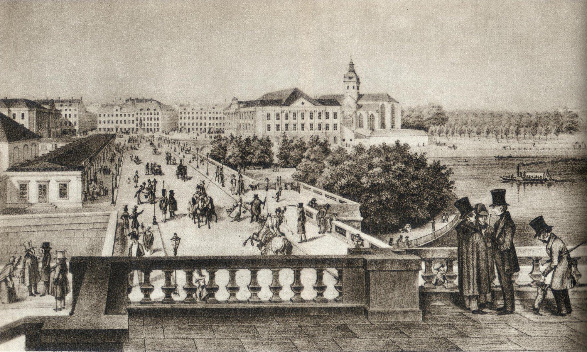 File:Norrbro i Stockholm 1840-talet.jpg