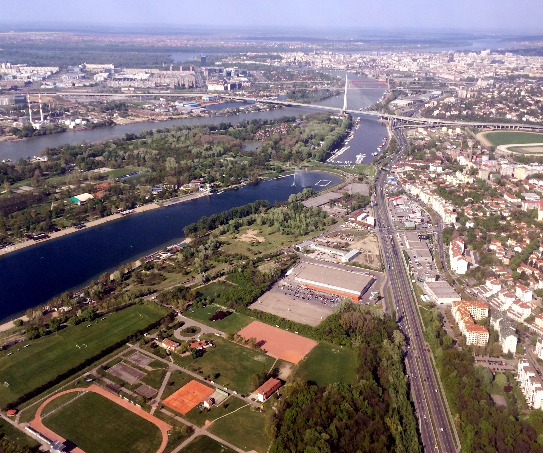 File Novo Beograd Ada Ciganlija And Cukarica Banovo Brdo Img