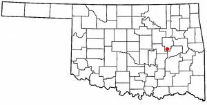 Henryetta, Oklahoma City in Oklahoma, United States
