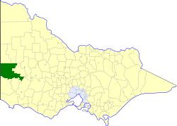Shire of Kowree Local government area in Victoria, Australia