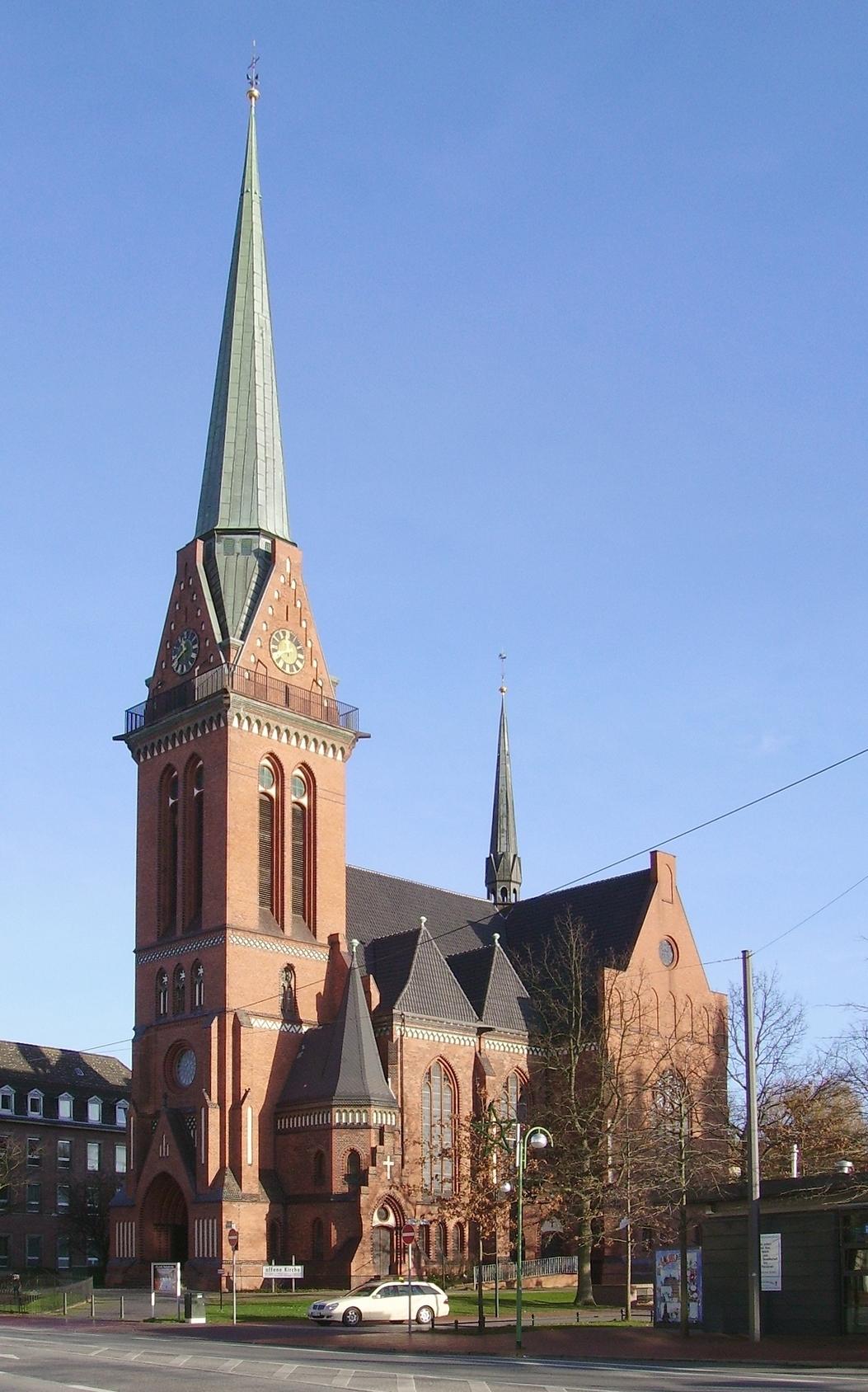 Pauluskirche (Bremerhaven) – Wikipedia