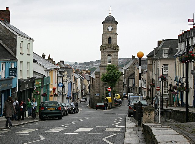 Penryn Town Centre - geograph.org.uk - 199761