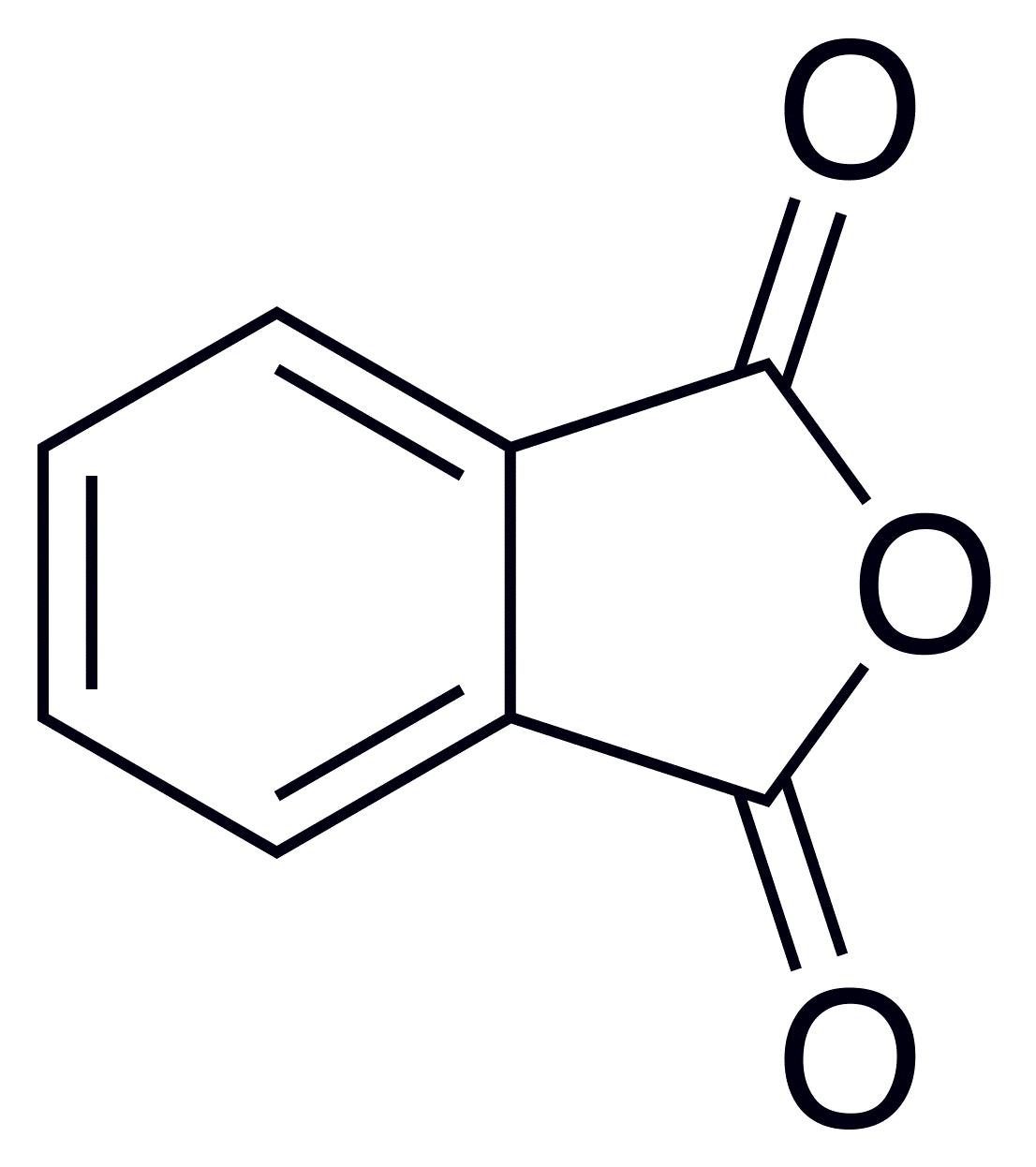 Phthalic Anhydride Skeletal Benzoic Acid Wikipedia