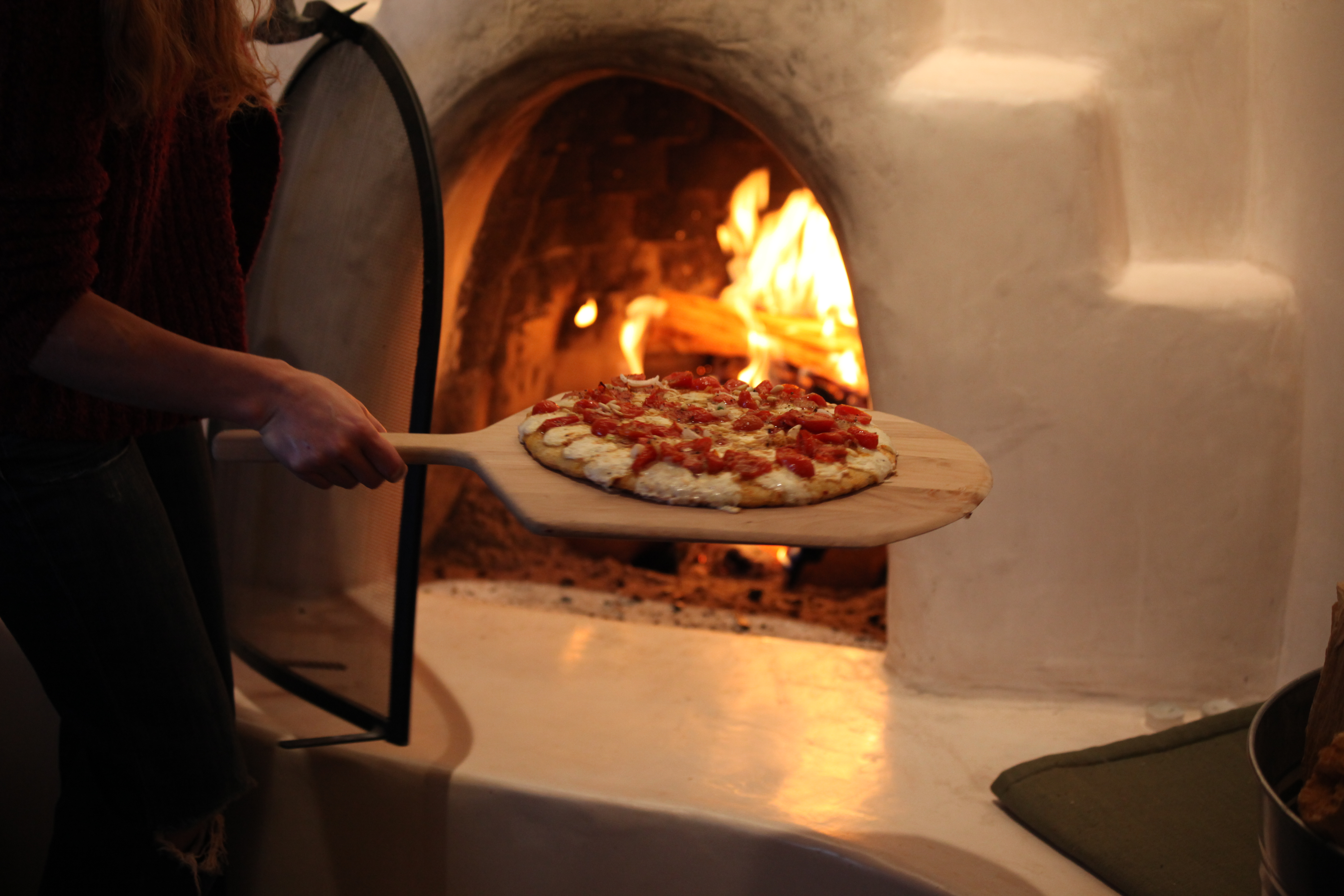 Pizza Oven In Home Kitchen