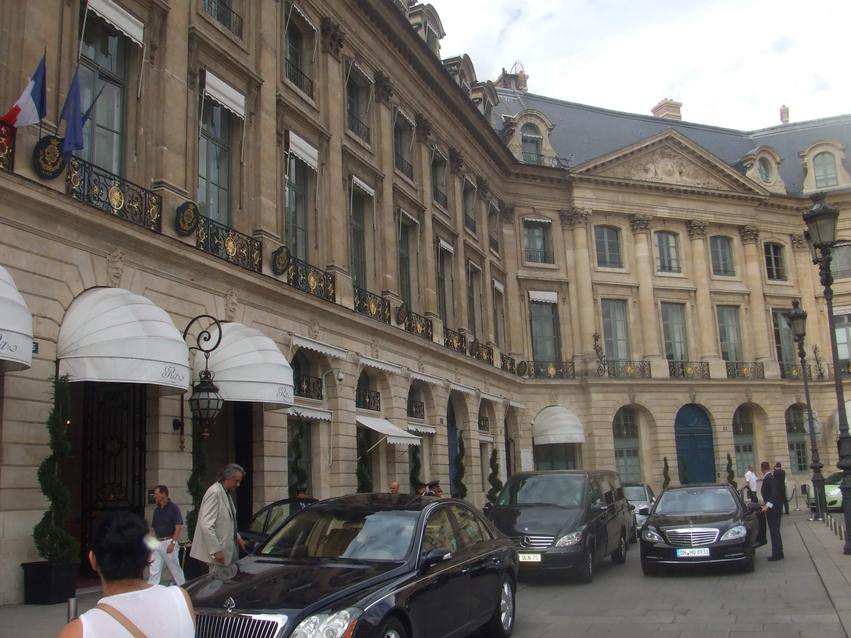 Hotel Ritz Paris Place Vend Ef Bf Bdme Paris France