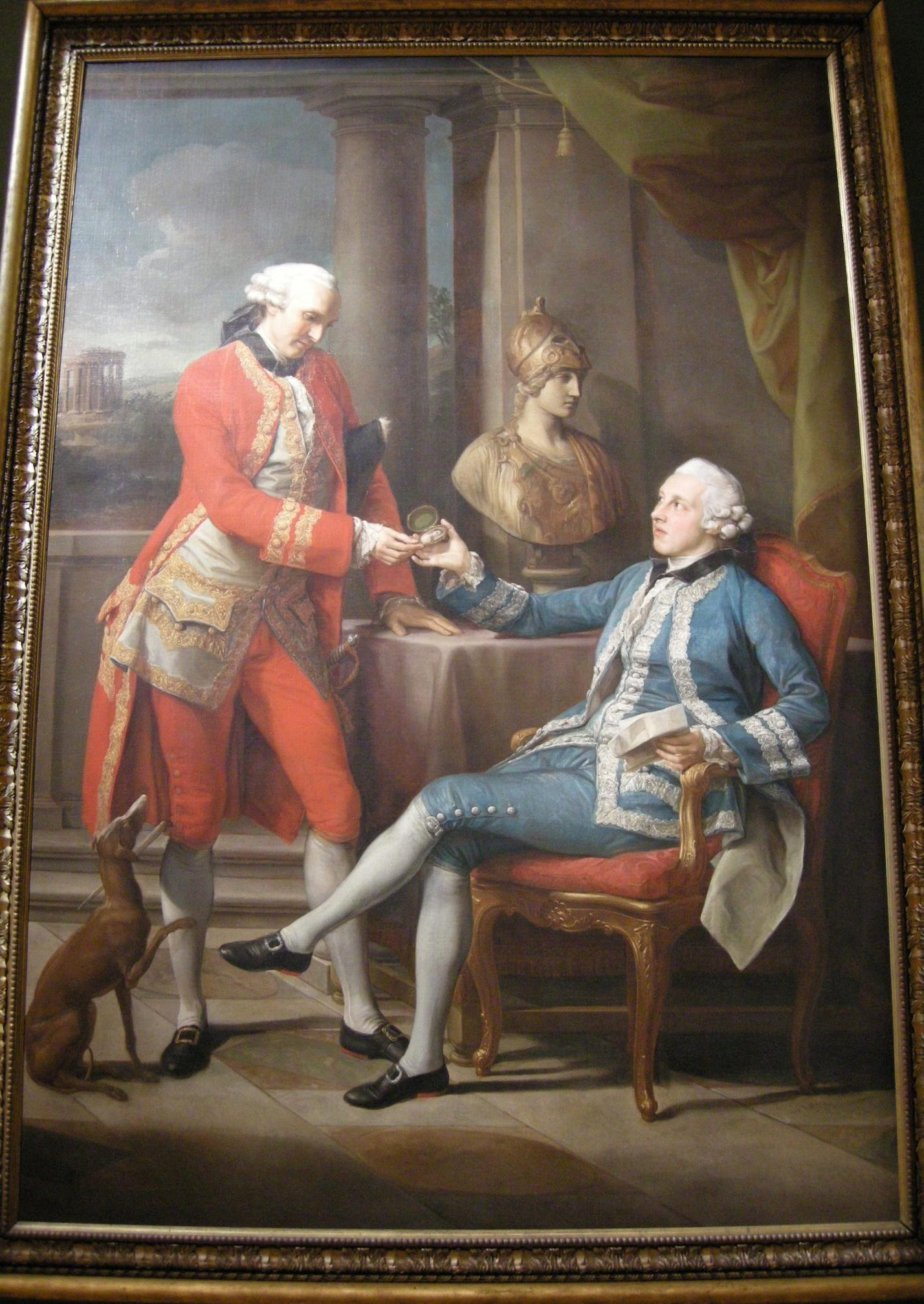 File:Pompeo batoni, sir sampson gideon e un compagno ignoto, 1767.JPG
