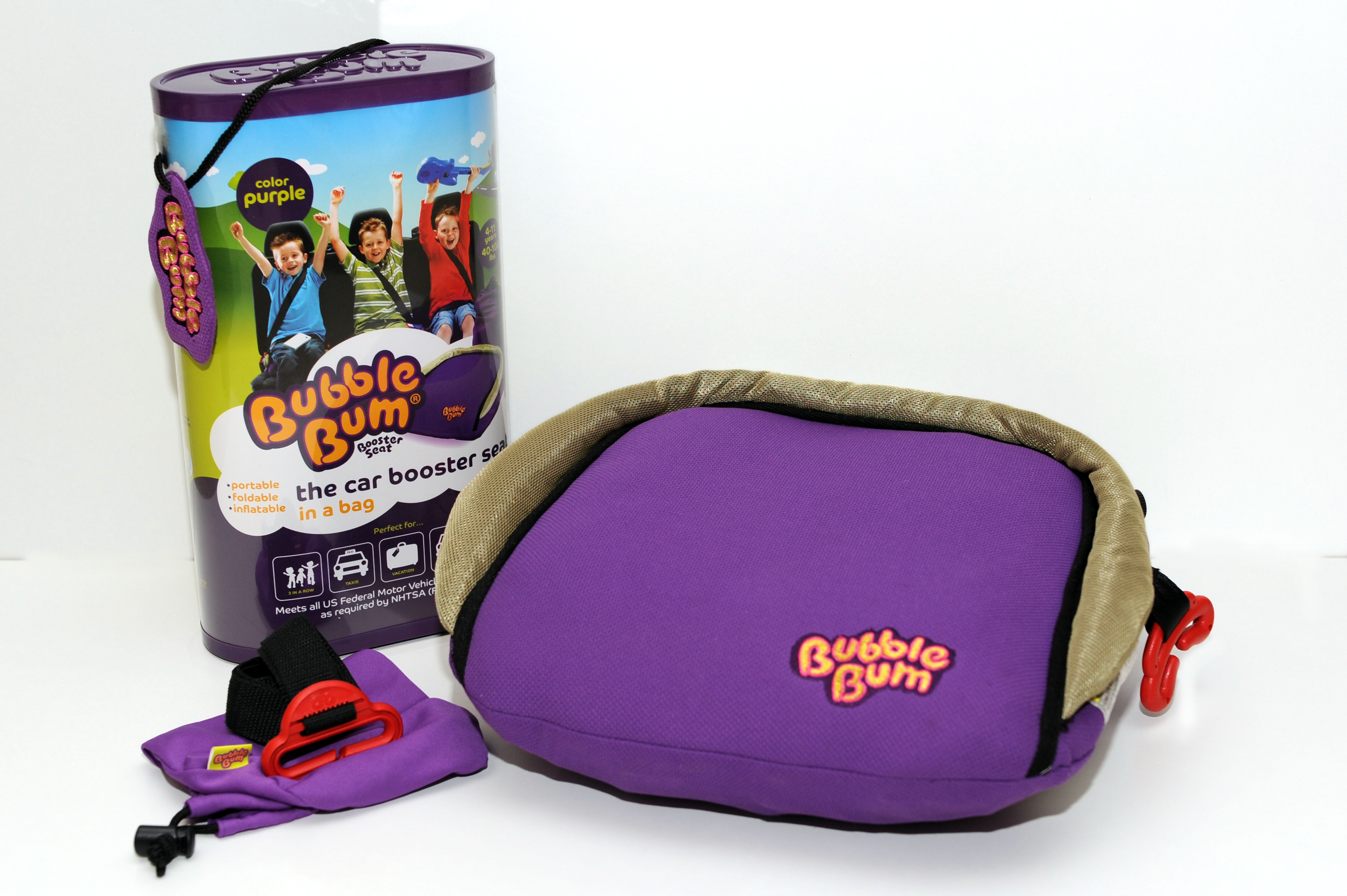 File:Purple BubbleBum Inflatable Car Booster Seat and its Packaging ...