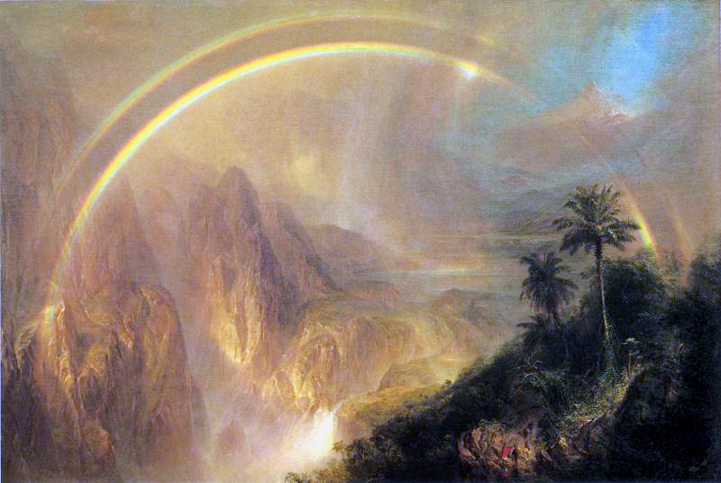 Rainy Season in the Tropics Frederic Edwin Church