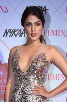 Rhea Chakraborty, 6th Nykaa Femina Beauty Awards 2020 (11) (cropped).jpg