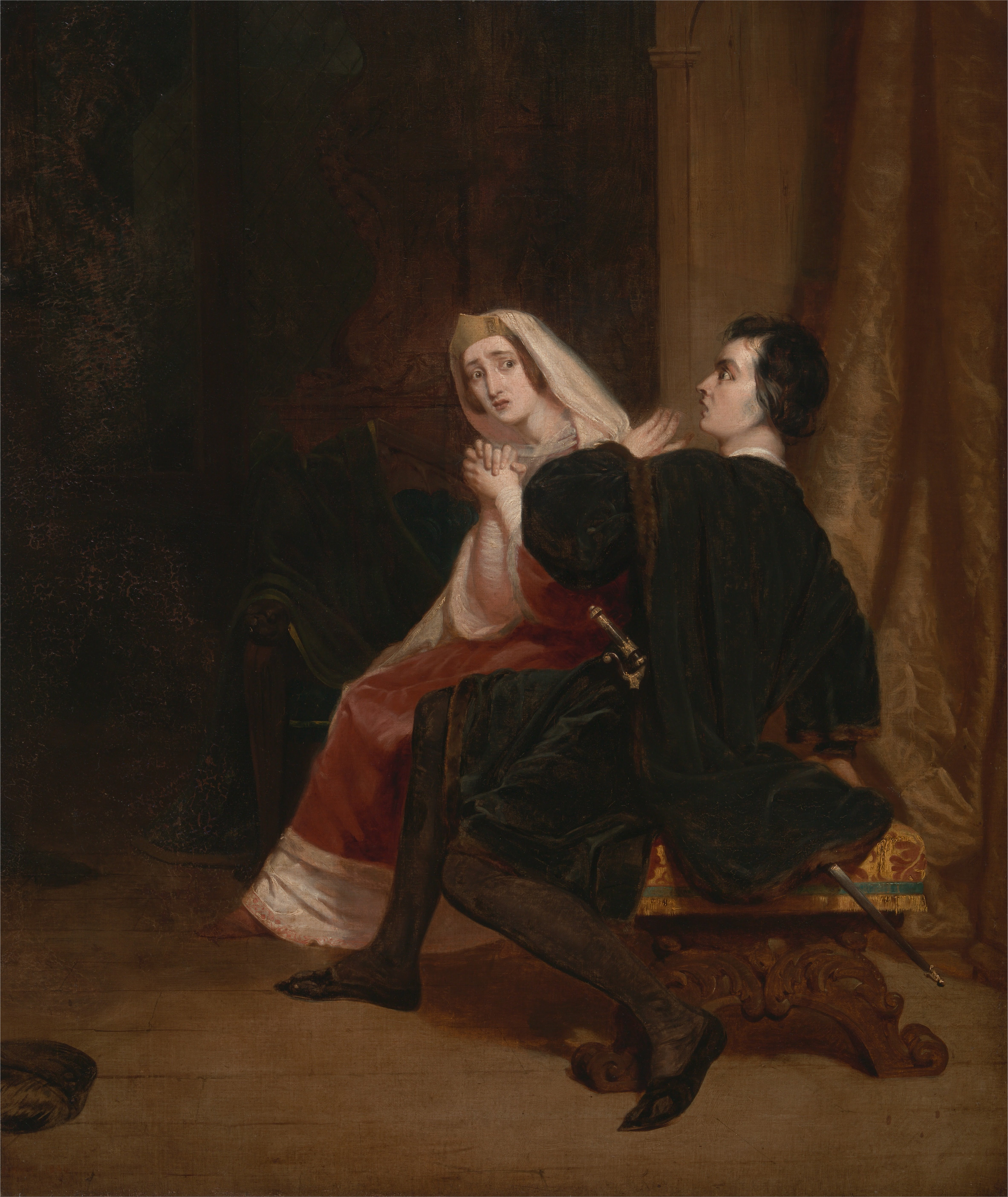 hamlet and his mother relationship