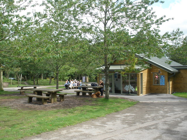 Ridge Cafe and picnic area, Haldon Forest Park - geograph.org.uk - 1429274