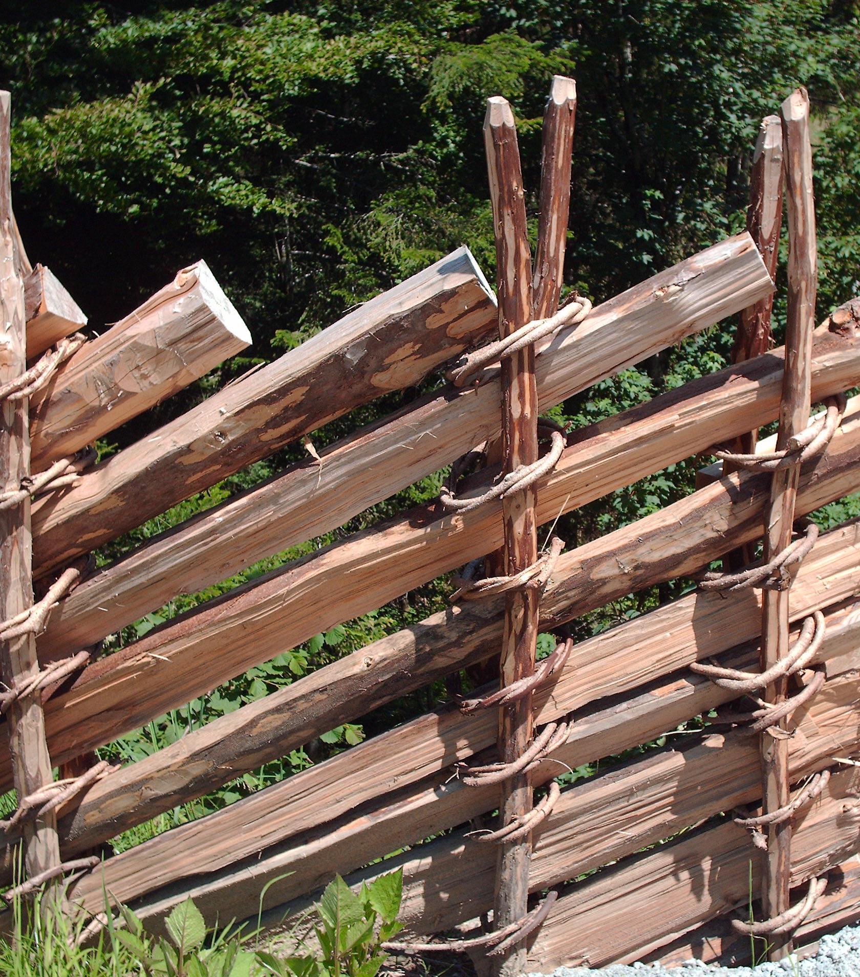 Zaun Bauen gartenzaun tor holz selber bauen zaun selber bauen