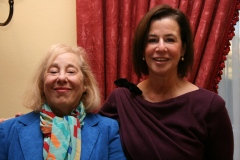 Kanter (left), with Susan Solomont, in 2010