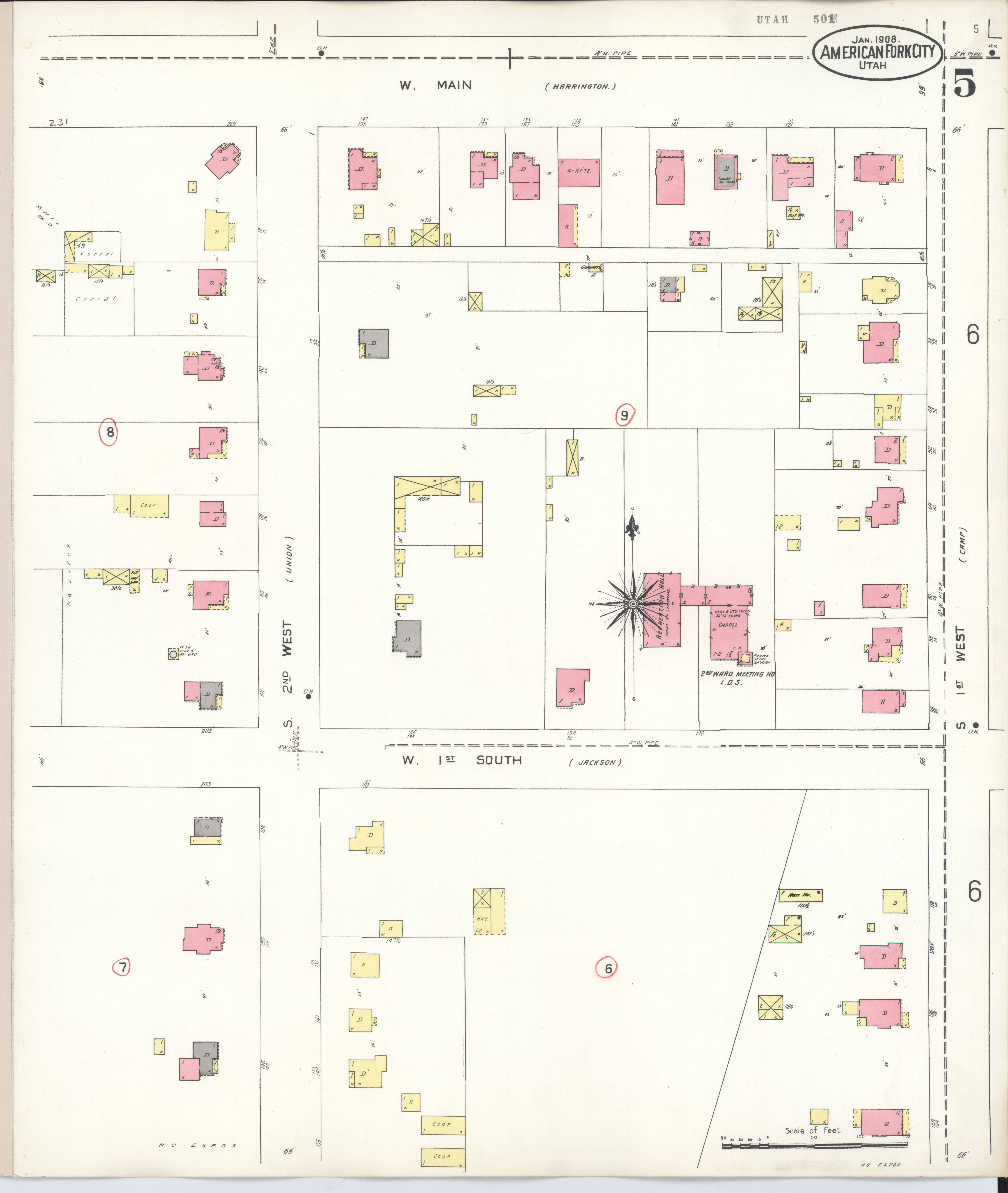 File:Sanborn Fire Insurance Map from American Fork, Utah ... on map of hill air force base utah, map of wallsburg utah, map of dugway utah, map of henefer utah, map of mountain green utah, map of genola utah, map of vineyard utah, map of timber lakes utah, map of new harmony utah, map of sterling utah, map of lapoint utah, map of la verkin utah, map of summit park utah, map of beryl utah, map of great salt lake utah, map of elk ridge utah, map of rush valley utah, map of united states utah, map of south weber utah, map of thanksgiving point utah,