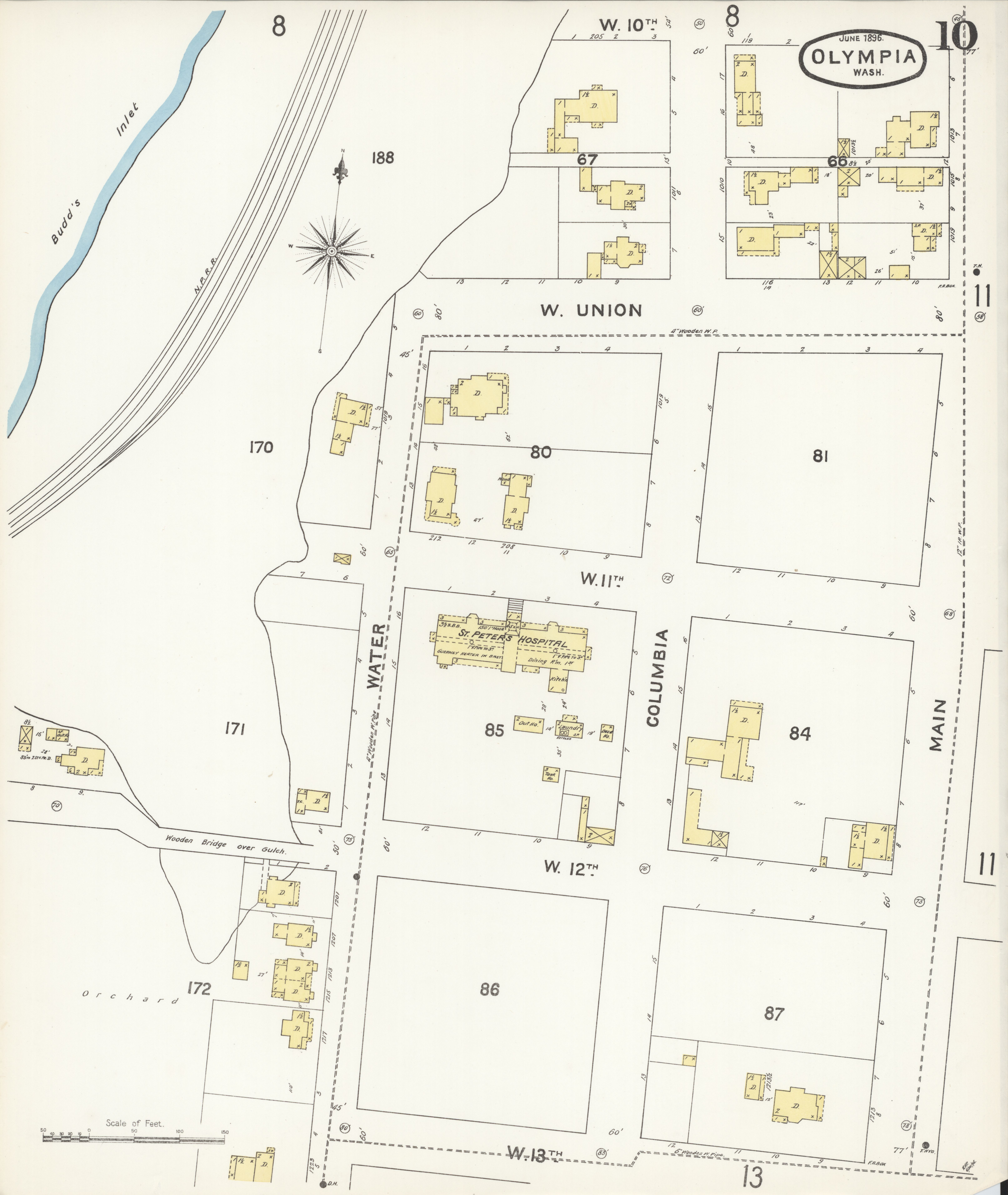 File:Sanborn Fire Insurance Map from Olympia, Thurston County ...